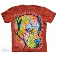 Dogs Speak T-shirt | Dog T-shirts | The Mountain® | Dean Russo